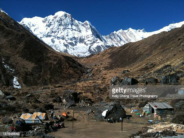 View of Annapurna South peak