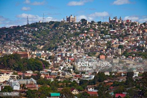 View of Antananarivo (Tana), Madagascar