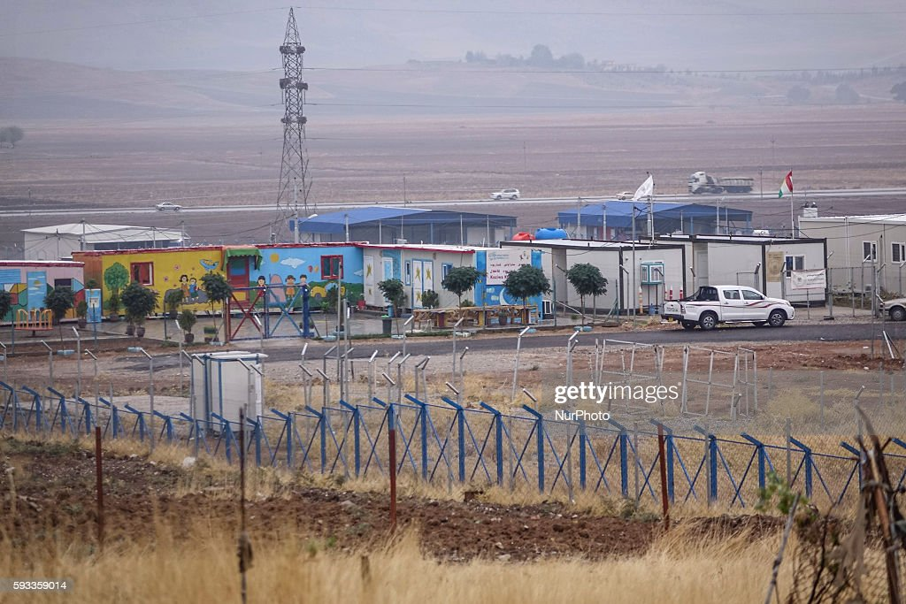 A view of Arbat Refugee camp in Northern Iraq Kurdistan near Sulaimaniyah city in 27 October 2015
