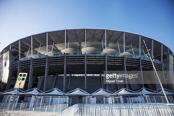 A view of Arena Fonte Nova stadium in Salvador host city of FIFA Confederations Cup Brazil 2013 on June 29 2013 in Salvador Brazil