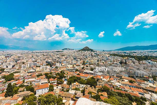 Vue de l'Acropole d'Athènes