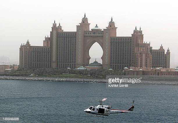 A view of Atlantis The Palm on Palm Jumeirah in the Gulf emirate of Dubai on May 27 2012 AFP PHOTO/KARIM SAHIB