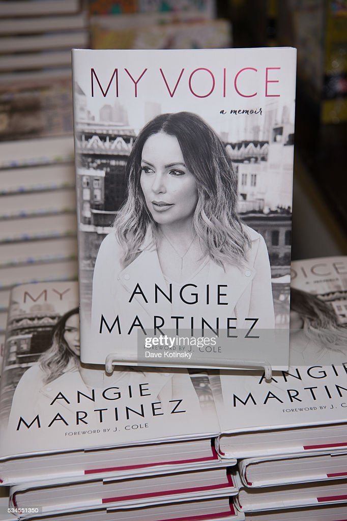A view of atmosphere as Angie Martinez signed copies of her new book 'The Voice' at Bookends Bookstore on May 26, 2016 in Ridgewood, New Jersey.