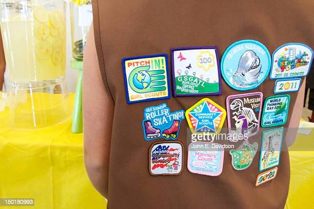 A view of atmosphere as Bailee Madison promotes the new movie 'Smart Cookies' and celebrates the 100th anniversary of Girl Scouts at Pretty Please...