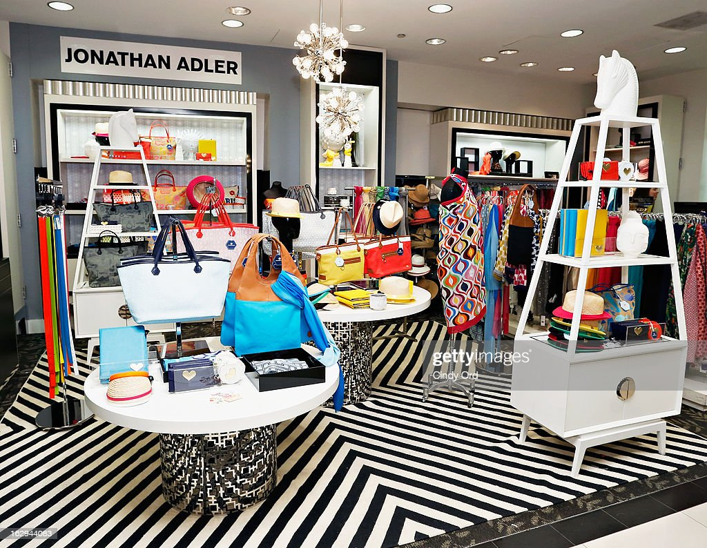 A view of atmosphere as Bloomingdale's 59th Street welcomes Jonathan Adler for the launch of the Jonathan Adler Accessories Collection at Bloomingdale's 59th Street Store on March 1, 2013 in New York City.