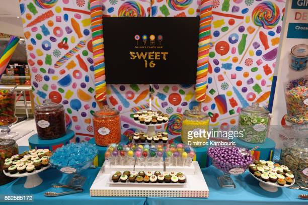 A view of atmosphere as Dylan Lauren celebrates the Sweet 16 of Dylan's Candy Bar on October 17 2017 in New York City