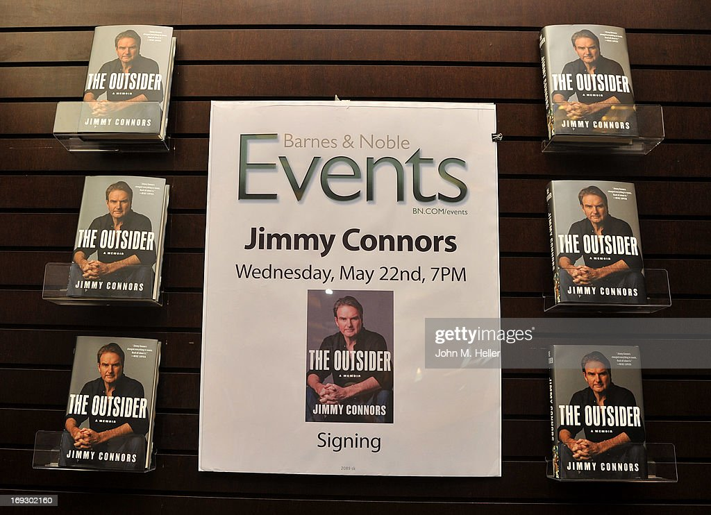 A view of atmosphere as Jimmy Connnors signs copies of his new book 'The Outsider' at Barnes & Noble bookstore at The Grove on May 22, 2013 in Los Angeles, California.