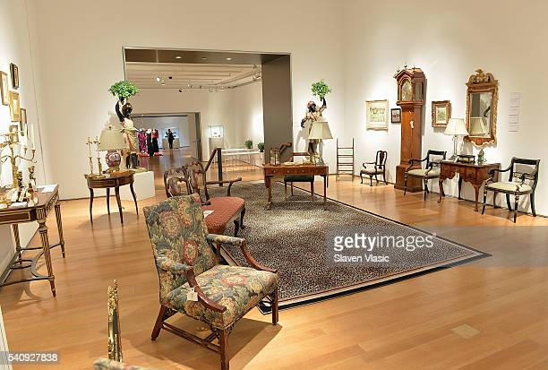 A view of atmosphere at Private Collection Of Joan Rivers Christie's Press Preview at Christie's Auction House on June 17 2016 in New York City