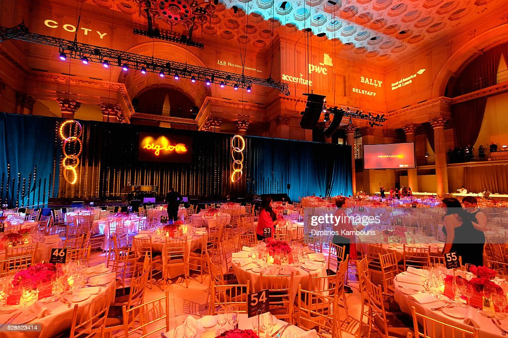 A view of atmosphere at the 10th Annual Delete Blood Cancer DKMS Gala at Cipriani Wall Street on May 5, 2016 in New York City.