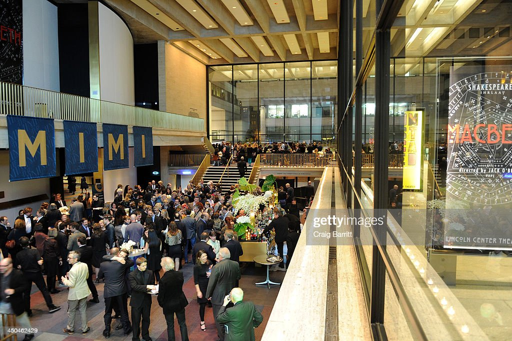 A view of atmosphere at The 2013 Steinberg Playwright 'Mimi' Awards presented by The Harold and Mimi Steinberg Charitable Trust at Lincoln Center Theater on November 18, 2013 in New York City.