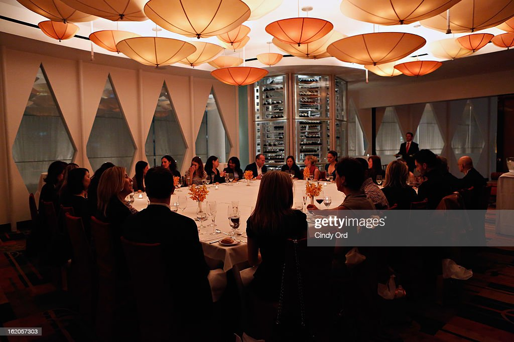 A view of atmosphere at the Gotham Magazine & Moroccanoil Celebrate With Step Up Women's Network event on February 18, 2013 in New York City.