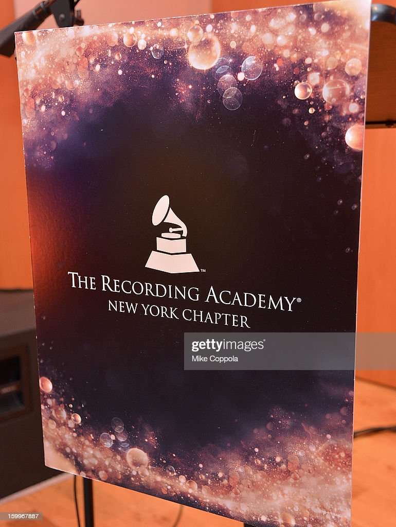 A view of atmosphere at the GRAMMY Nominee Reception at The Recording Academy NY Chapter on January 23, 2013 in New York City.