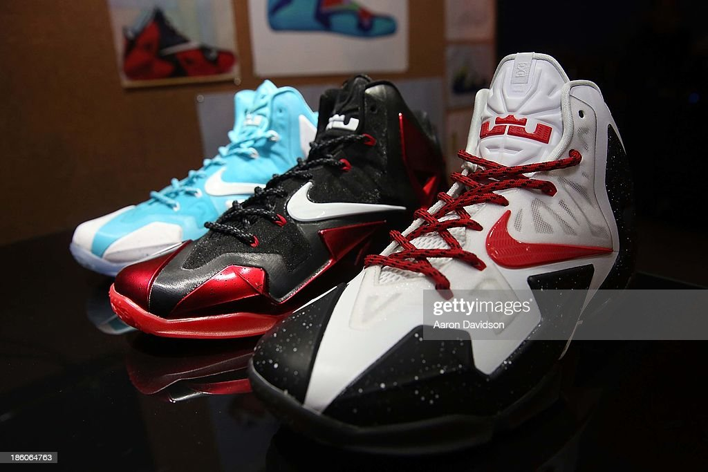 A view of atmosphere at the LeBron James 11/11 Experience on October 27, 2013 in Miami Beach, Florida.