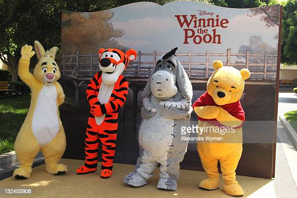 A view of atmosphere at The Los Angeles Premiere of 'Winnie The Pooh' held at The Walt Disney Studios on July 10 2011 in Burbank California