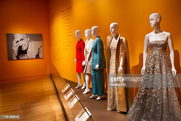 A view of atmosphere at the Oscar de la Renta American Icon reception at the William J Clinton Presidential Center on July 08 2013 in Little Rock...