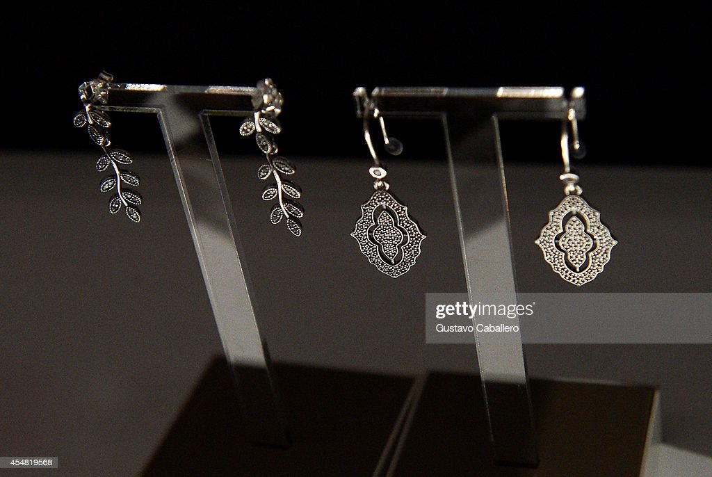 Jewelry at mercedes benz fashion week spring 2015 day 1 for Mercedes benz charm