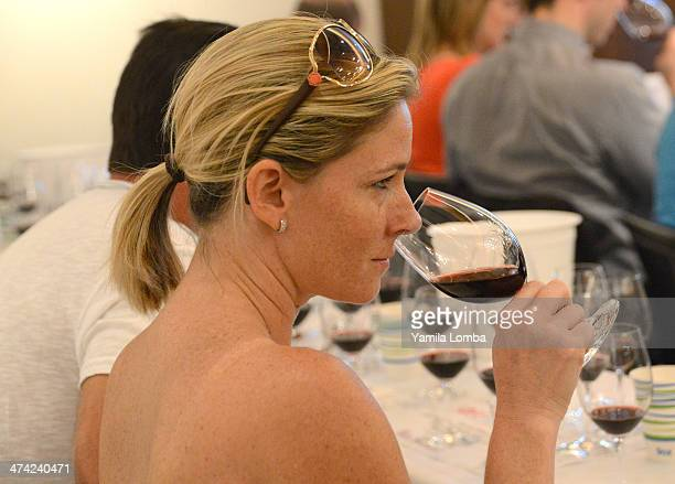 A view of atmosphere at Wine Spectator Wine Seminar Caymus Vineyards A 95 Points Cabernet Sauvignon Vertical Tasting during the Food Network South...