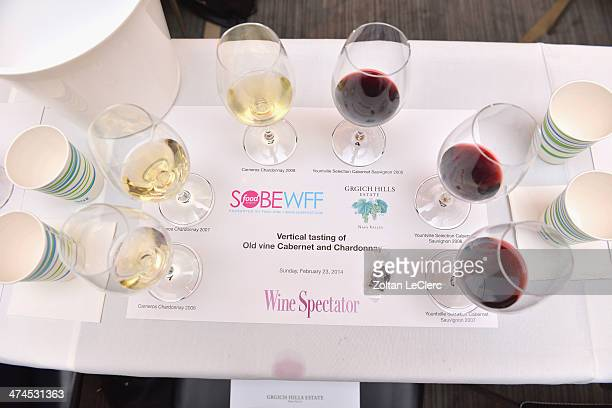 A view of atmosphere at Wine Spectator Wine Seminar Wine Seminar Series C Chateau D'Esclans Grgich Clos Apalta With Alexandra MarnierLapostolle And...