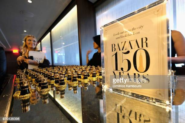 A view of atmosphere during Harper's BAZAAR 150th Anniversary Event presented with Tiffany Co at The Rainbow Room on April 19 2017 in New York City
