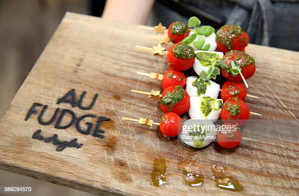 A view of atmosphere during host Katherine Schwarzenegger's Amazon Echo cooking class at AU FUDGE on August 4 2016 in West Hollywood California