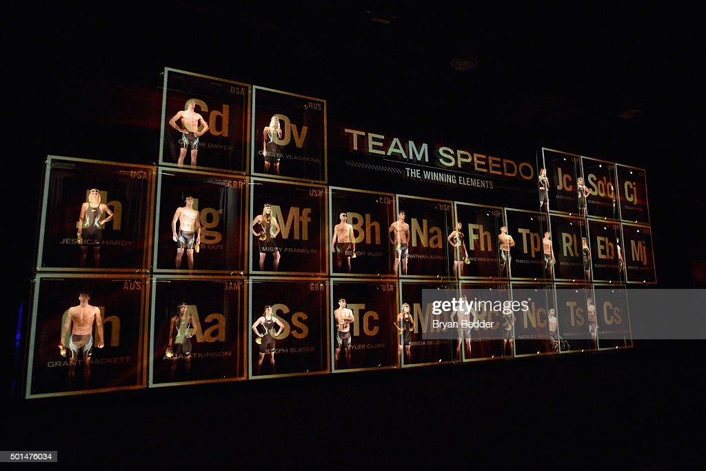 A view of atmosphere during the New York launch of Team Speedo and Speedo's Fastskin LZR Racer X on December 15 2015 in New York City #TeamSpeedo