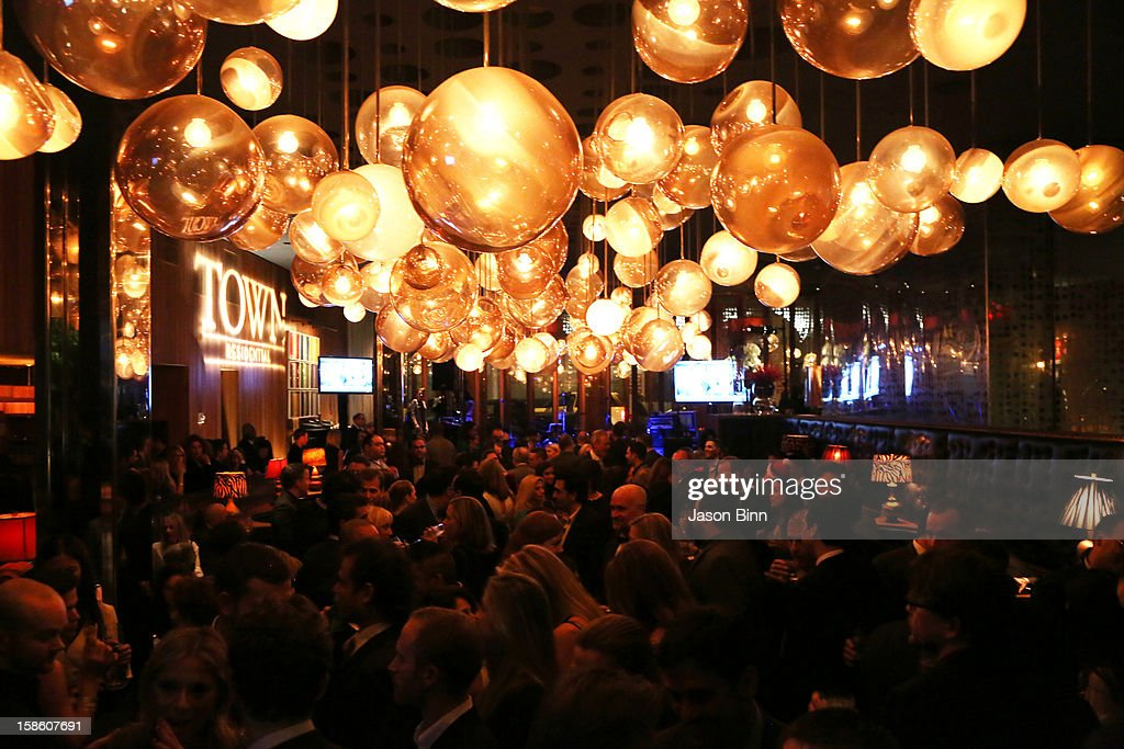 View of atmosphere during TOWN Residential's holiday party in celebration of its two year anniversary at the Dream Downtown on December 10, 2012 in New York City.
