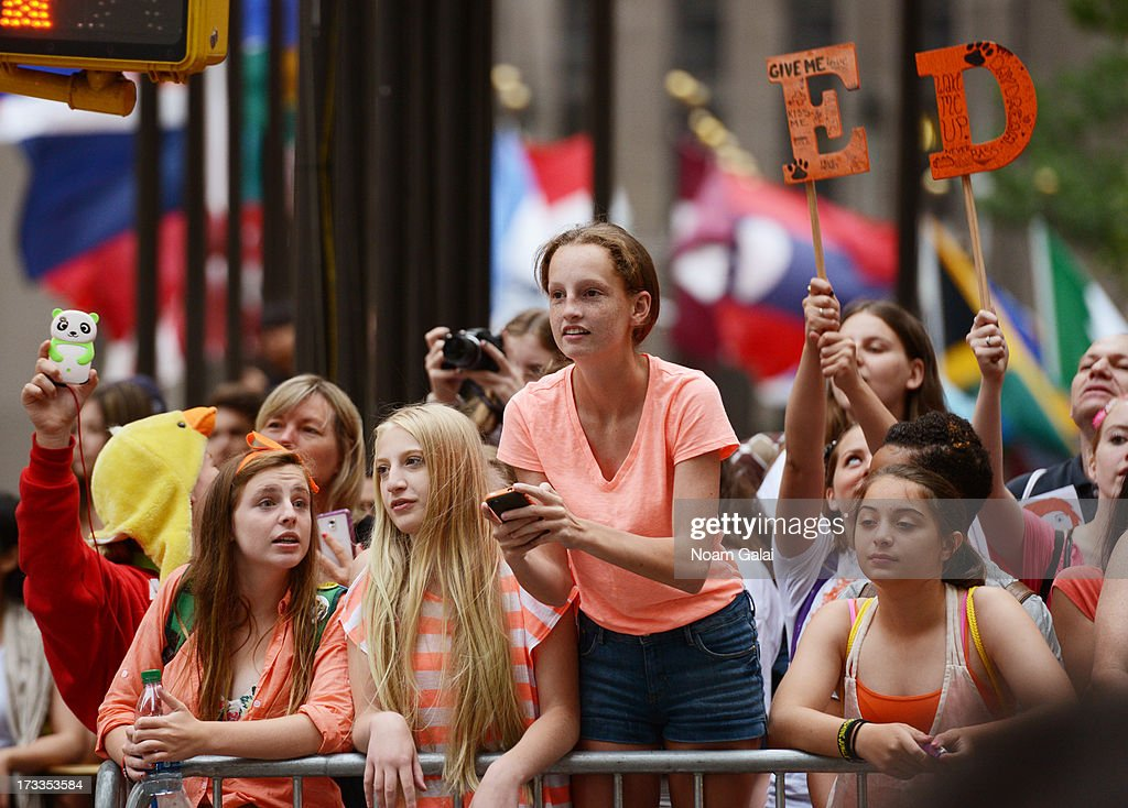 A view of atmosphere on NBC's 'Today' at the NBC's TODAY Show on July 12, 2013 in New York, New York.