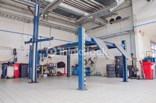Vue de voiture r paration boutique ou garage photo for Garage automobile paris 12