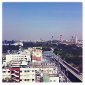 View of Bangalore city