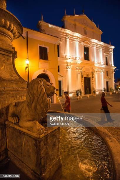 A view of Basilica of Cassano allo Ionio in Calabria southern Italy