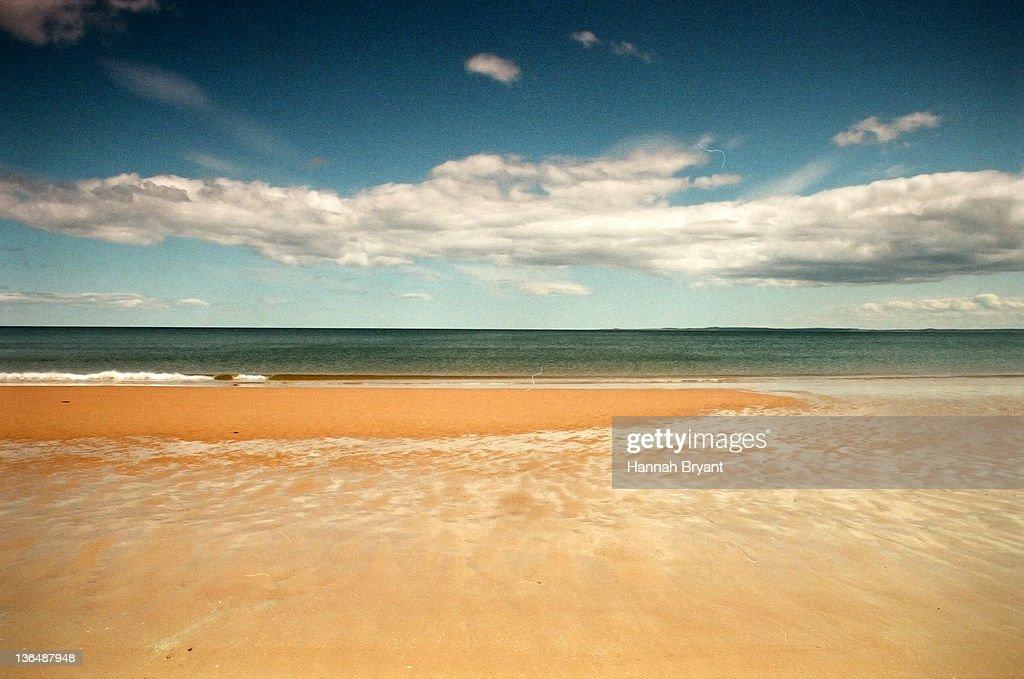 View of beautiful beach, UK : Stock Photo