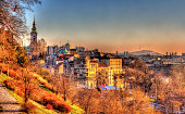 View of Belgrade city center - Serbia