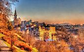 View of Belgrade city center - Serbia