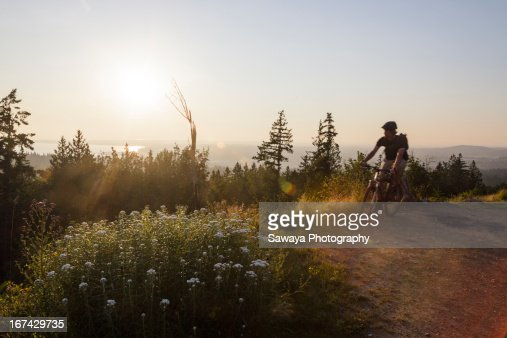 View of Bellingham from Galbraith : Stock Photo