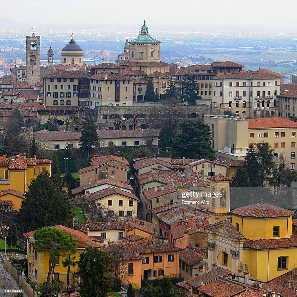 View of Bergamo