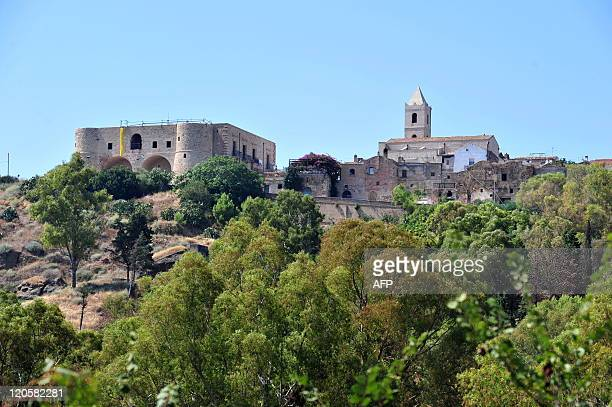 A view of Bernalda in the Italian region of Basilicata on August 7 2011 US film director Sofia Coppola will marry French rock singer Thomas Mars in...