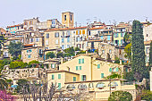 View of Biot, south of France