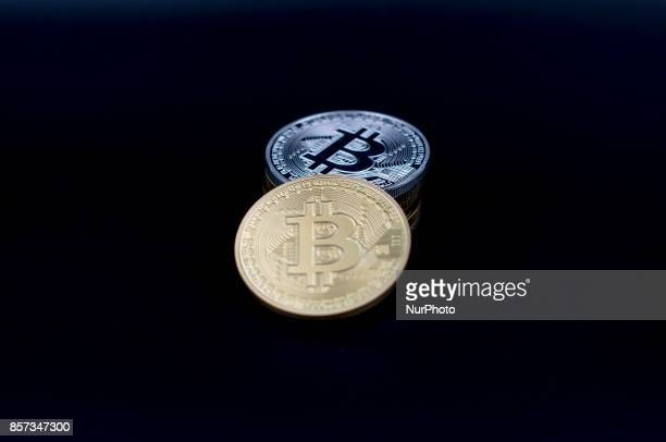 A view of Bitcoin cryptocurrency token