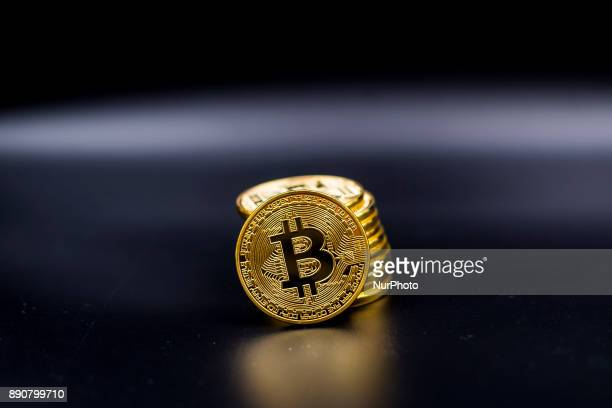 A view of Bitcoin physical coin Futures on Bitcoins increased by more than 20% after their American debut on the Chicago Cboe Futures Exchange