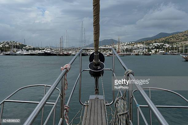 A view of Bodrum harbour Bodrum Turkey on October 22 2015