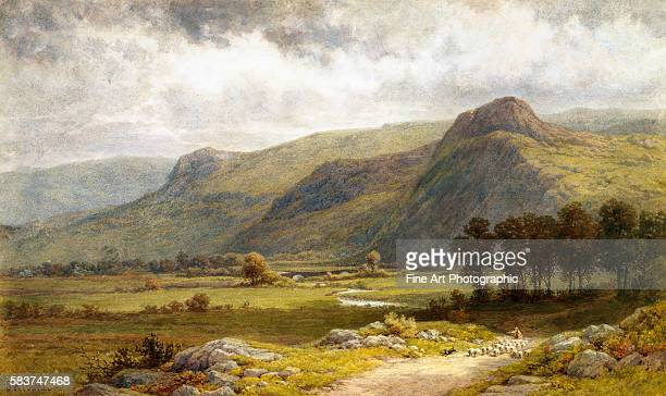 A View of Borrowdale England by Samuel Henry Baker