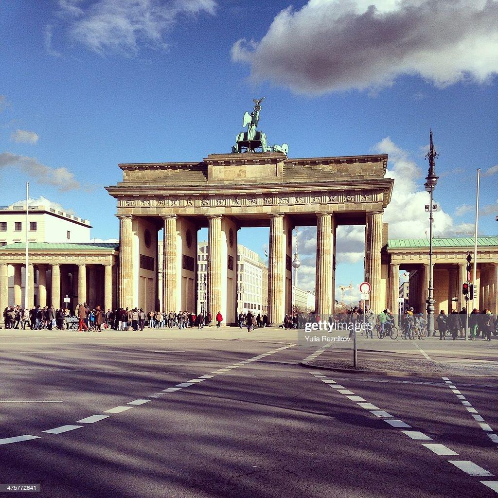 View of Brandenburg Gate (Brandenburger tor)Berlin