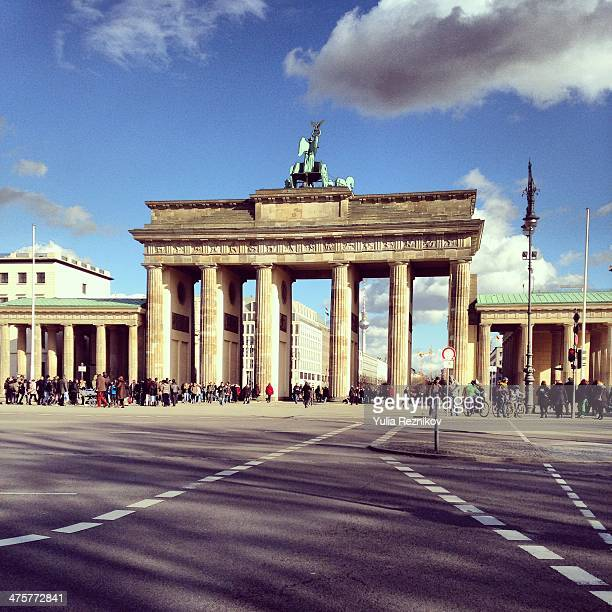View of Brandenburg Gate (Brandenburger tor)Berlin