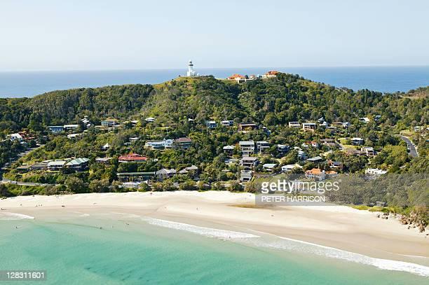 View of Byron Bay, NSW, Australia