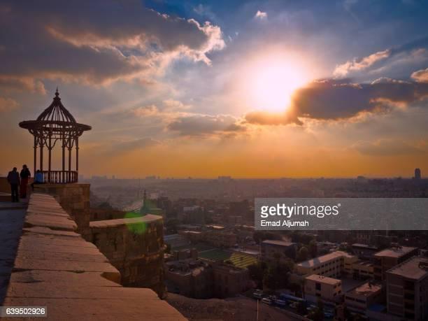 View of Cairo from Cairo Citadel (The Saladin Citadel of Cairo), Cairo, Egypt