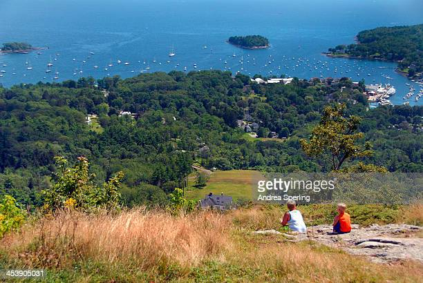 View of Camden, Maine from Camden Hills, Maine