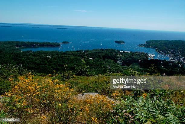 View of Camden, Maine