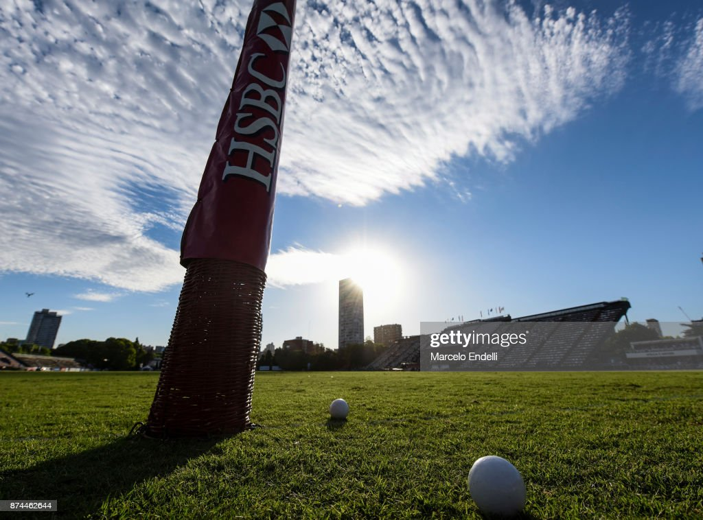 View of Campo Argentino de Polo during a match between La Dolfina and La Albertina as part of the HSBC 124°° Argentina Polo Open at Campo Argentino de Polo on November 11, 2017 in Buenos Aires, Argentina.
