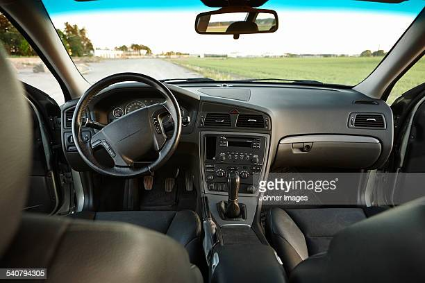 View of car interior