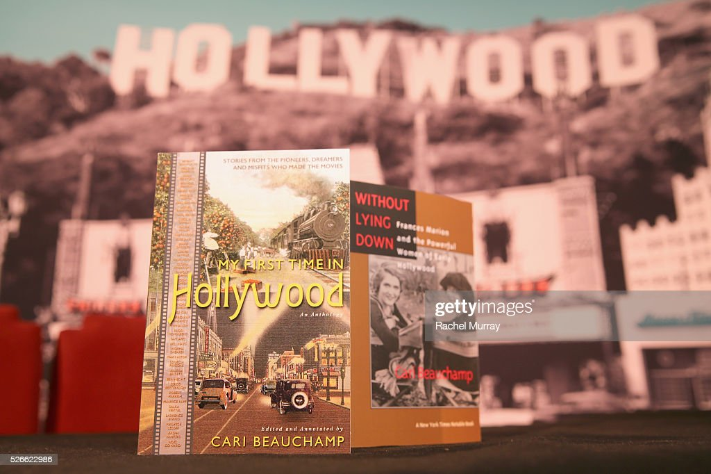A view of Cari Beauchamp's book at Cari Beauchamp book signing during day 3 of the TCM Classic Film Festival 2016 on April 30, 2016 in Los Angeles, California. 25826_007